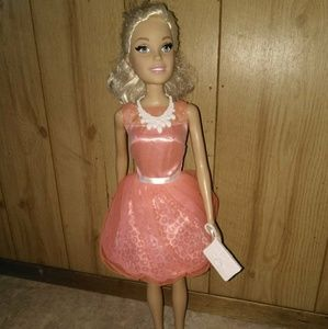 NWOT Tall Barbie 28 inches tall.